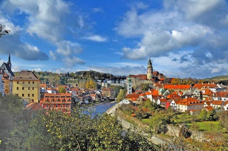 Most Beautiful Towns Cesky Krumlov