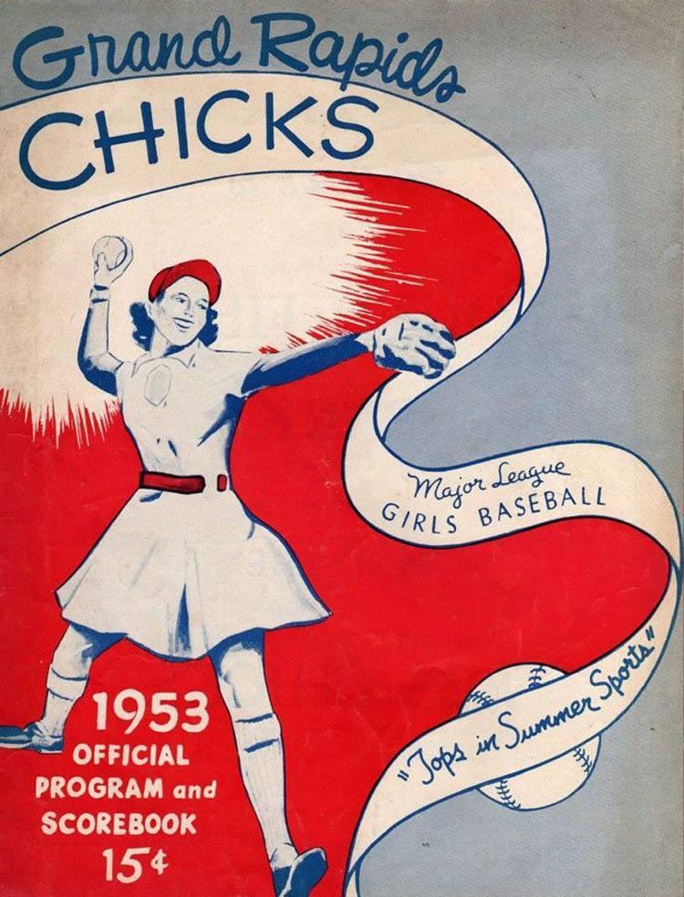 national girls baseball chicks