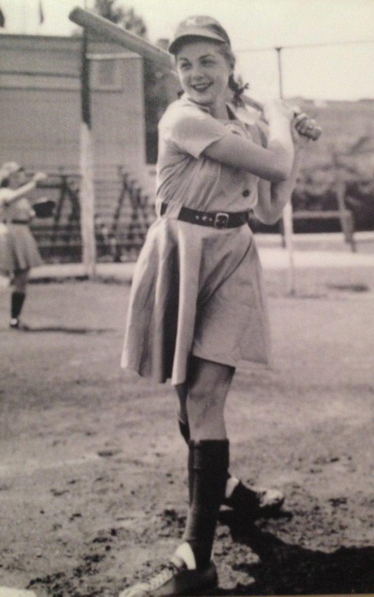 national girls baseball dottie