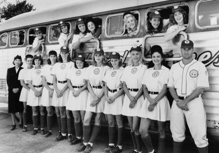 national girls baseball movie