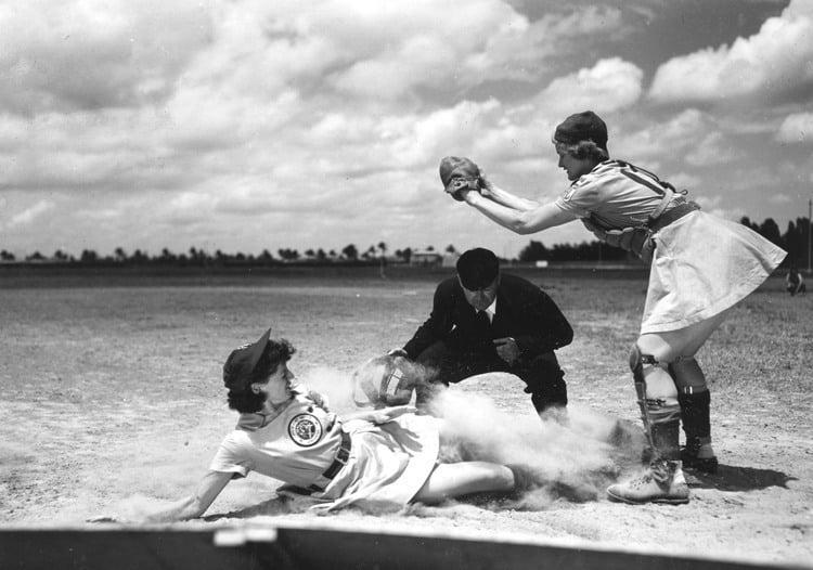 national girls baseball safe