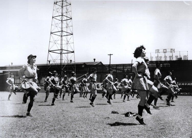 national girls baseball workout