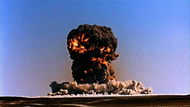 Nuclear Explosion Cloud