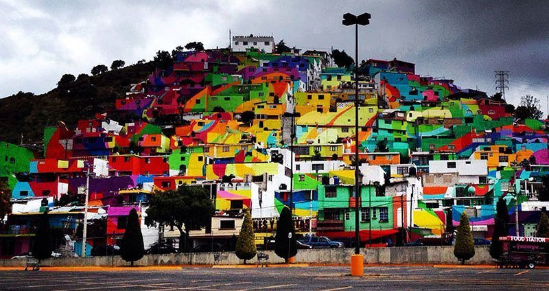 This Palmitas Street Art Project Transformed A City