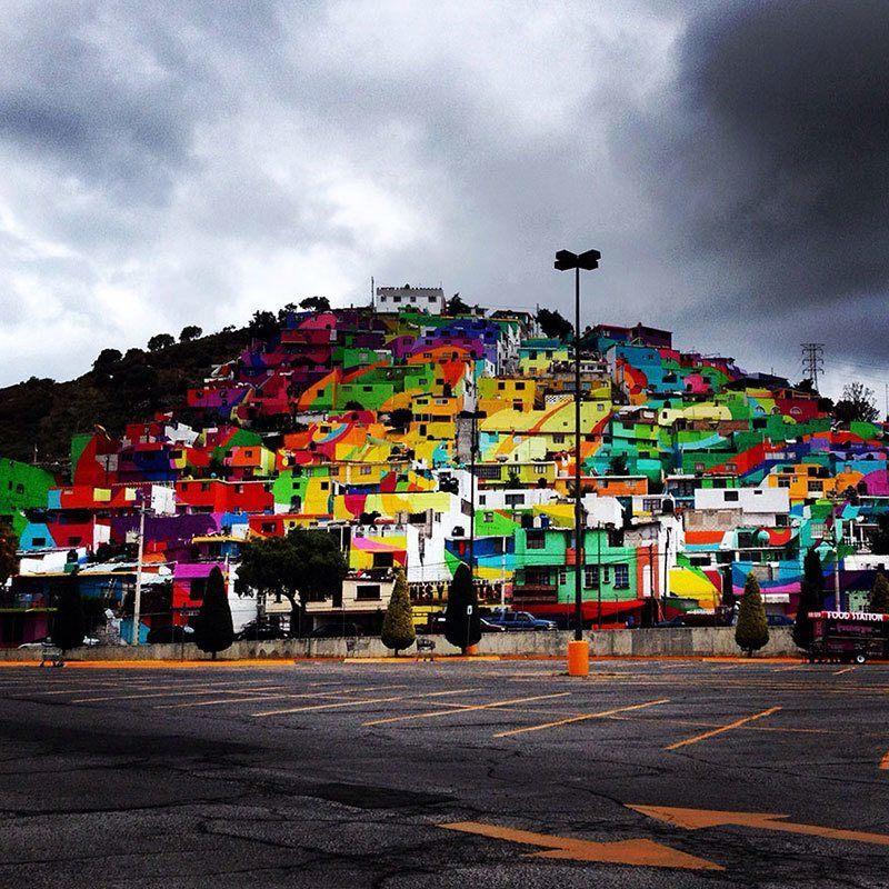 Palmitas Street Art Pachuca Evening
