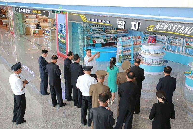 New North Korean Airport Amenities