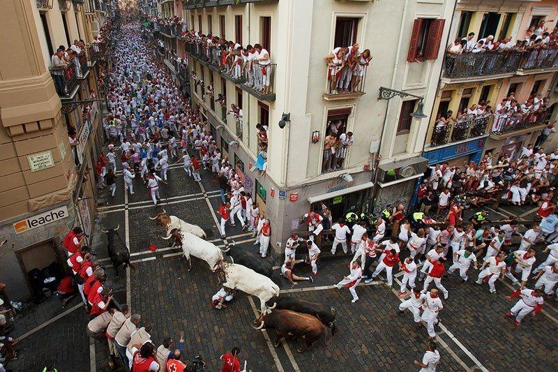 San Fermin Festival In Spain