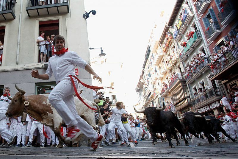 Pursuit Running of the Bulls