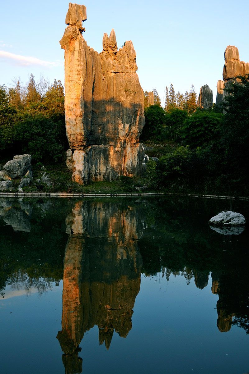 Chinese Stone Forest Water