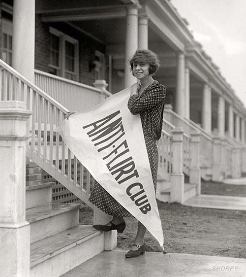 Suffragette Feminism Anti Flirt Club
