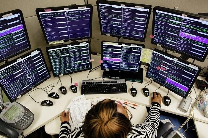 Telemedicine Many Monitors Vitals
