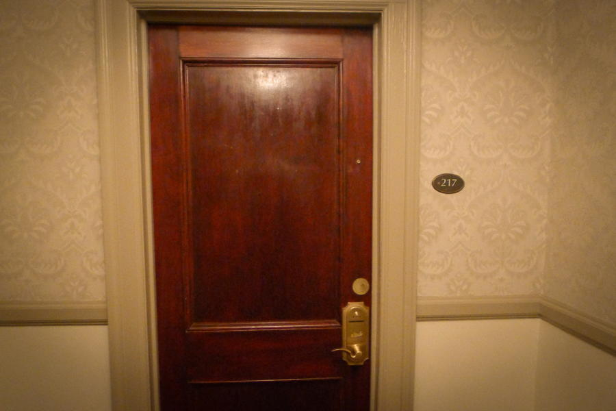 The Shining Hotel Door