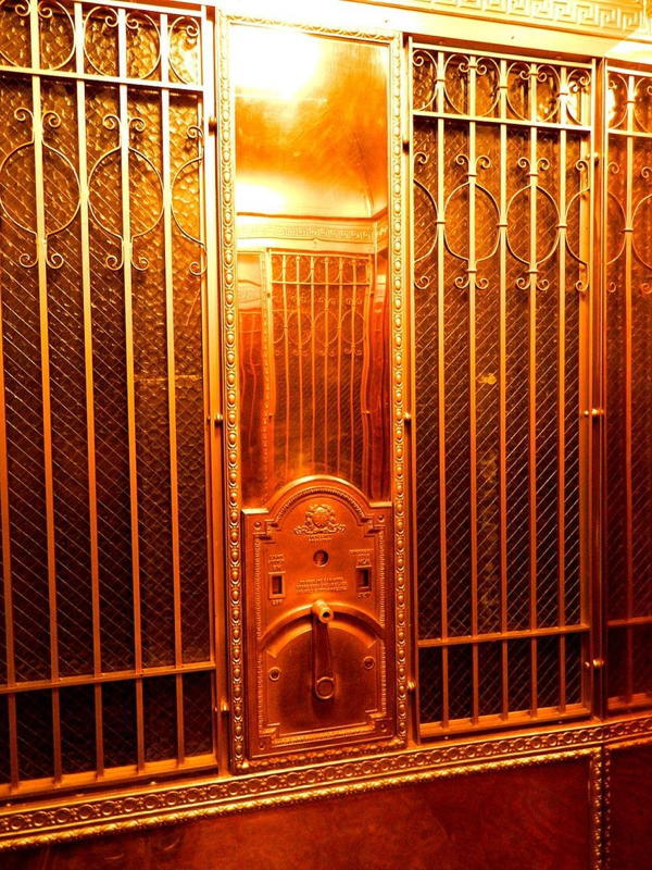 The Shining Hotel Elevator