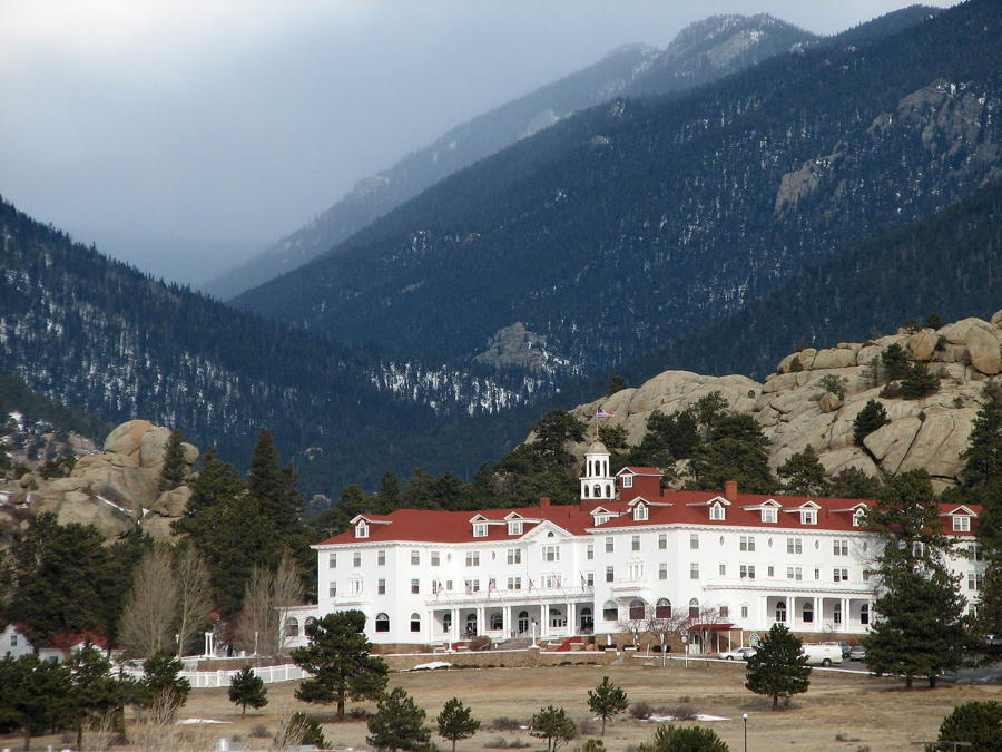 The Shining Hotel Landscape