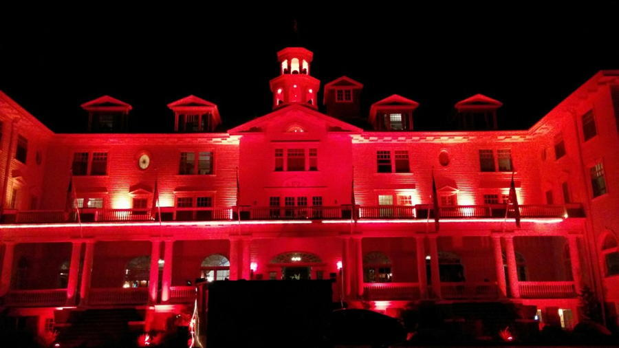 The Shining Hotel Red