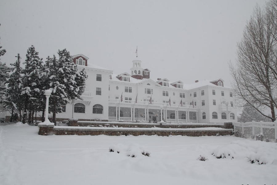 The Shining Hotel Snow