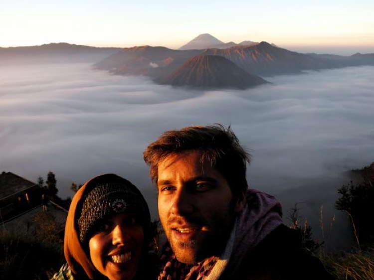Best Travel Selfies Bromo Indonesia