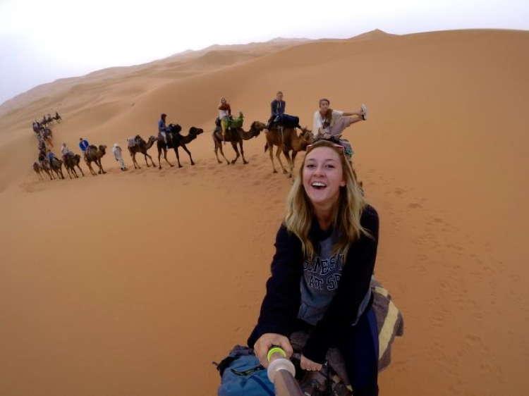 Best Travel Selfies Camels