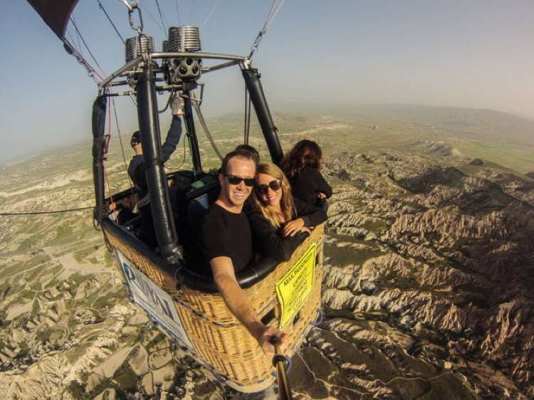 Best Travel Selfies Cappadocia