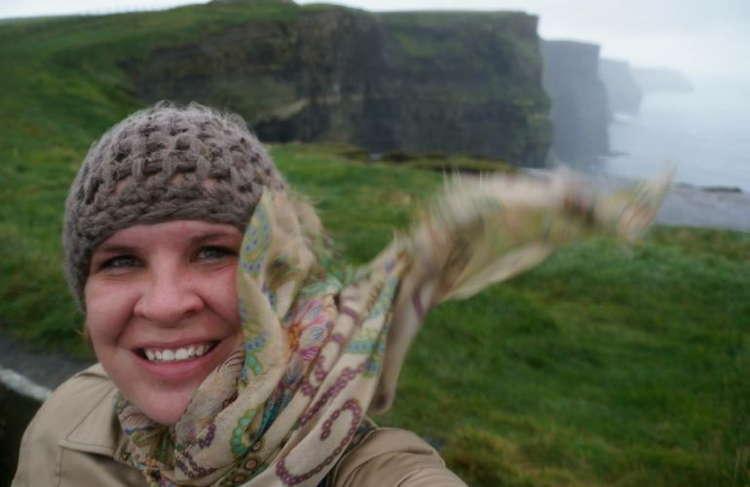 Best Travel Selfies Cliffs Moher
