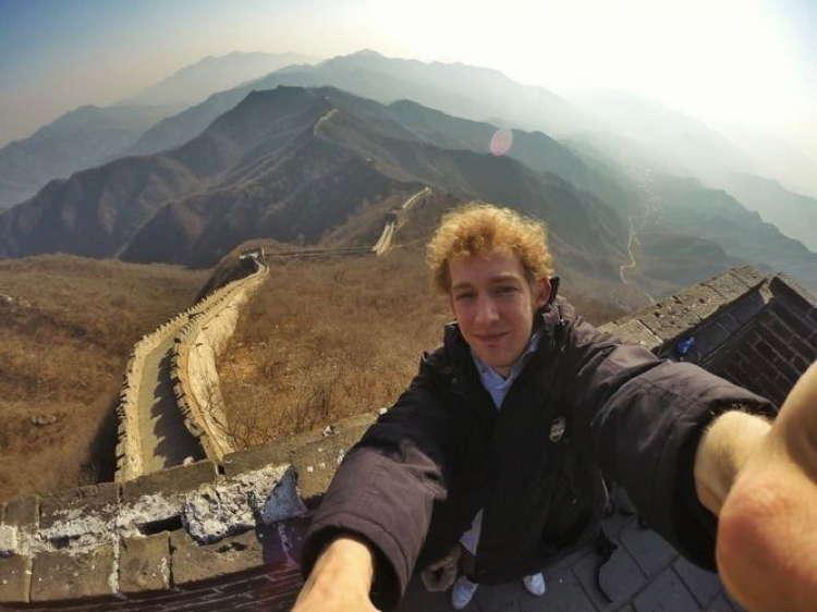 Best Travel Selfies Great Wall