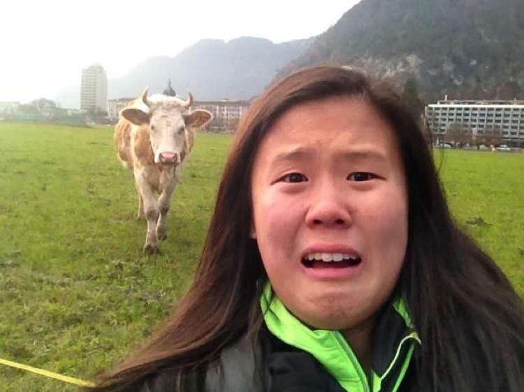 Best Travel Selfies Interlaken Switzerland