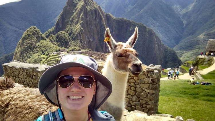 Best Travel Selfies Machu Picchu