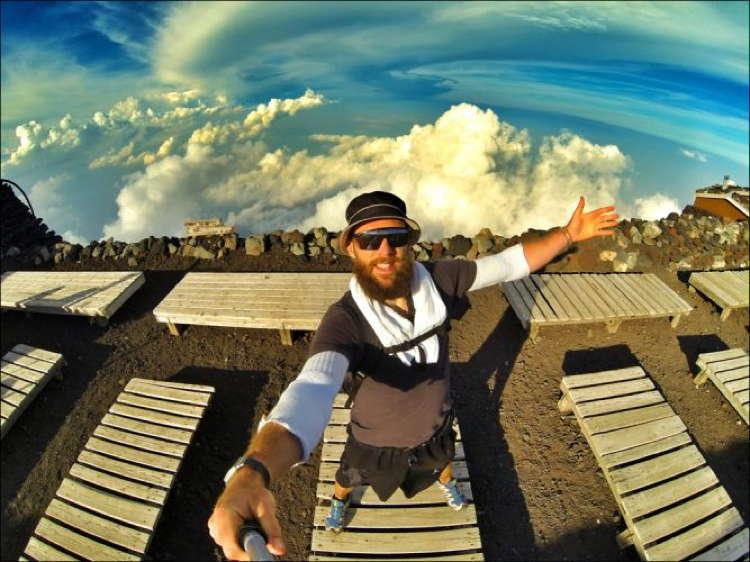 Best Travel Selfies Mount Fuji