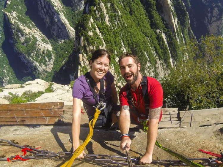 Best Travel Selfies Mount Hua