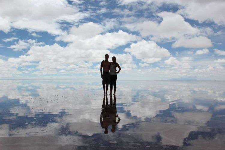 Best Travel Selfies Salt Flats