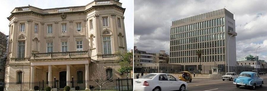 US Cuba Embassies