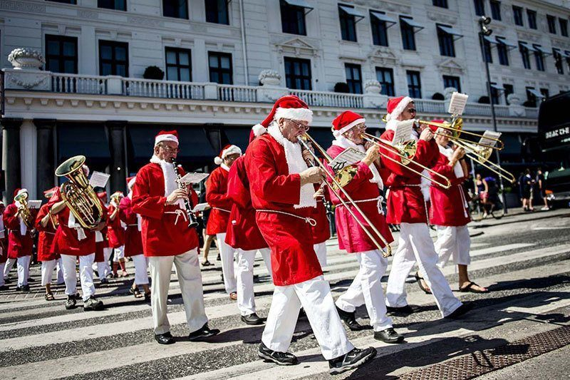 Denmark Santa Claus Convention