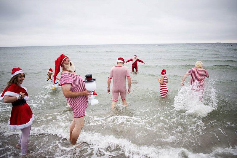 Footbath Annual Santa Convention