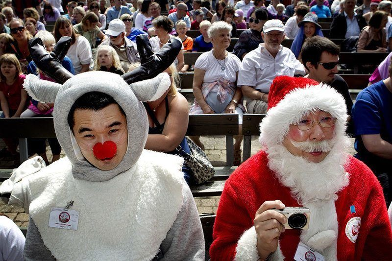 World Santa Claus Congress Friendship