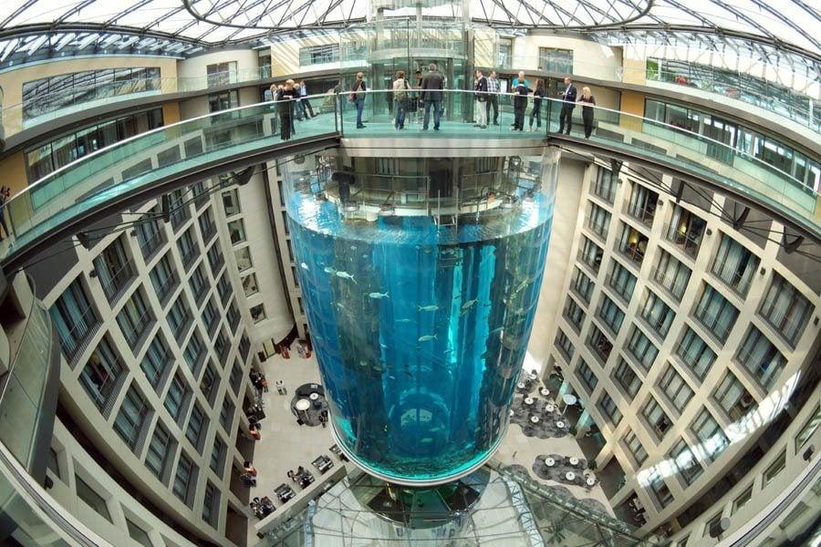 German AquaDom Tower