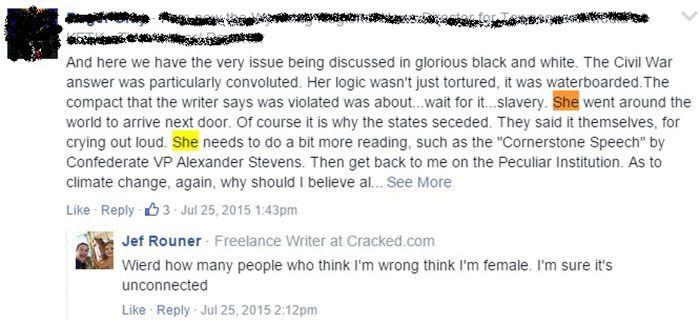 Journalistic Sexism Jef Rouner