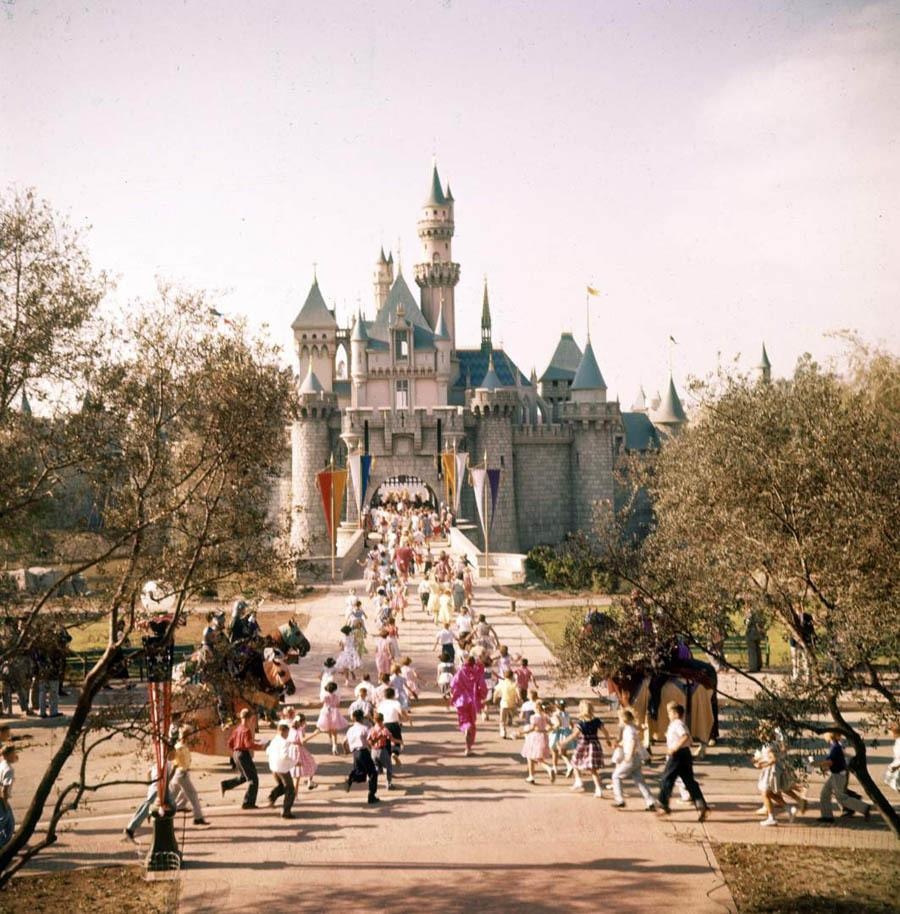 Retro Disneyland Castle