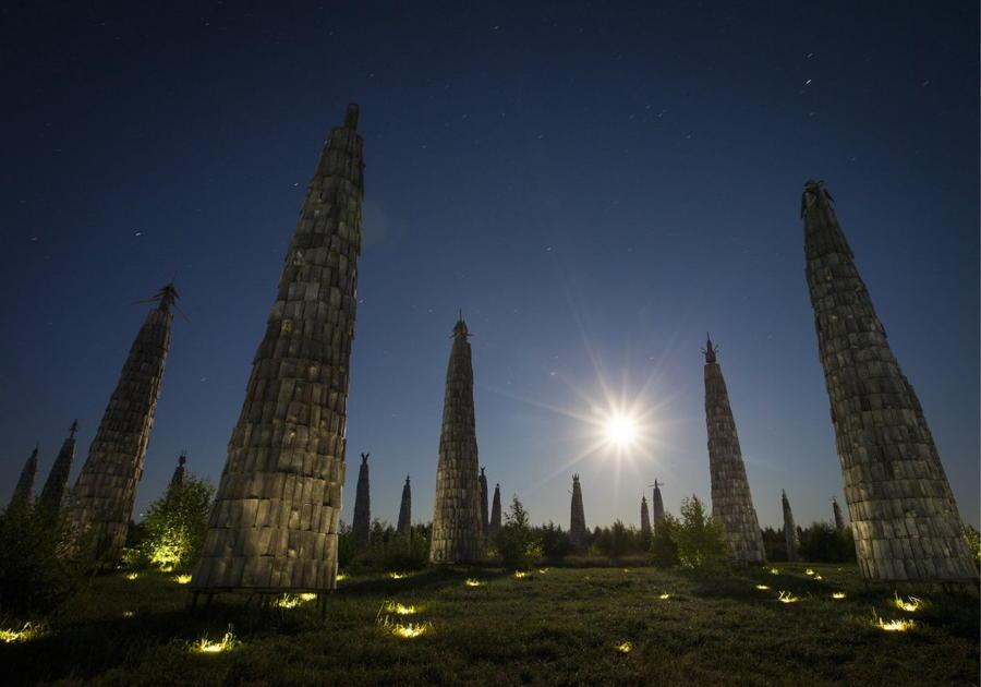 Archtoyanie Sculptures Towers