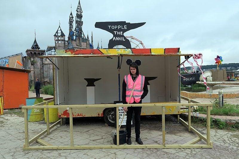 Banksy Disneyland Alternative