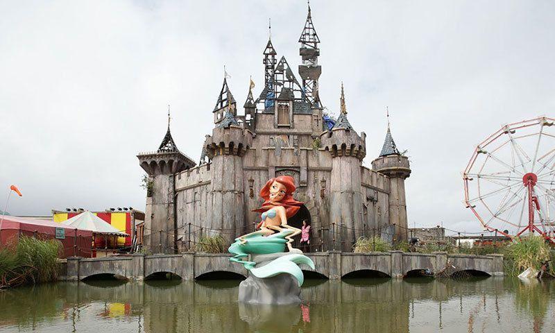 Banksy Dismaland Ariel