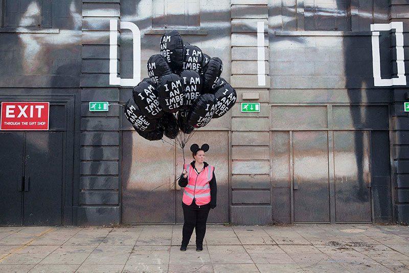 Banksy Dismaland Balloons