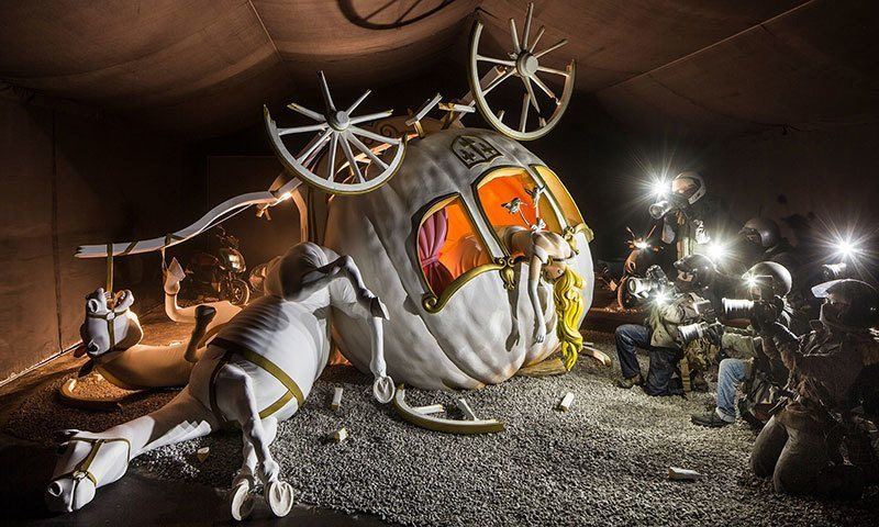 Banksy Dismaland Carriage