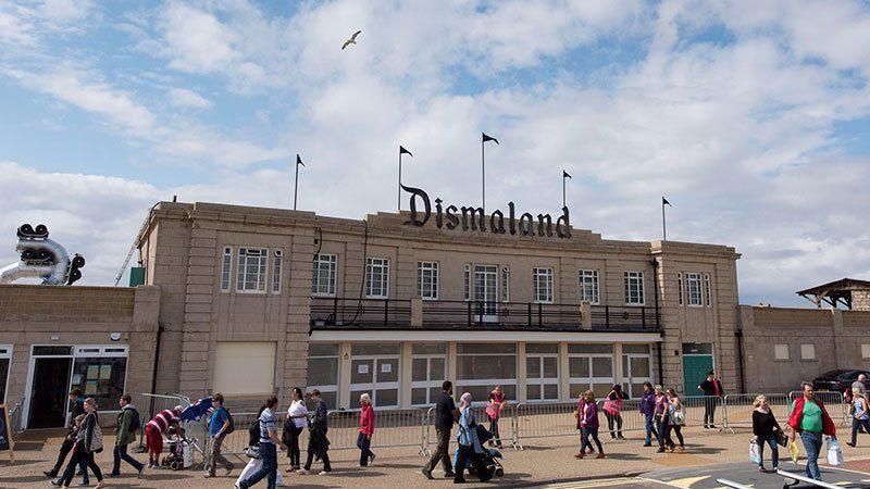 Banksy Theme Park Entrance