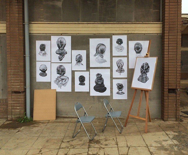 Banksy Dismaland Faces