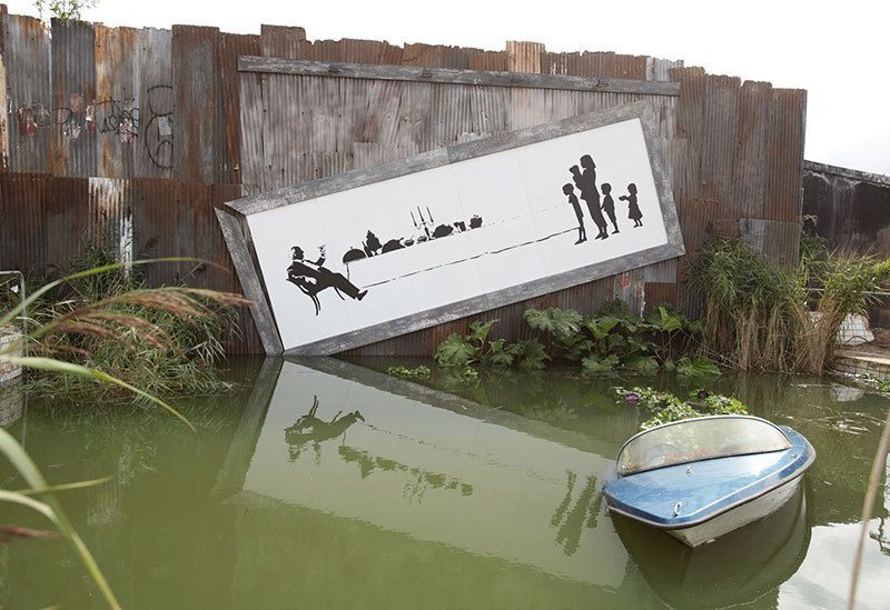 Banksy Haunting Theme Park