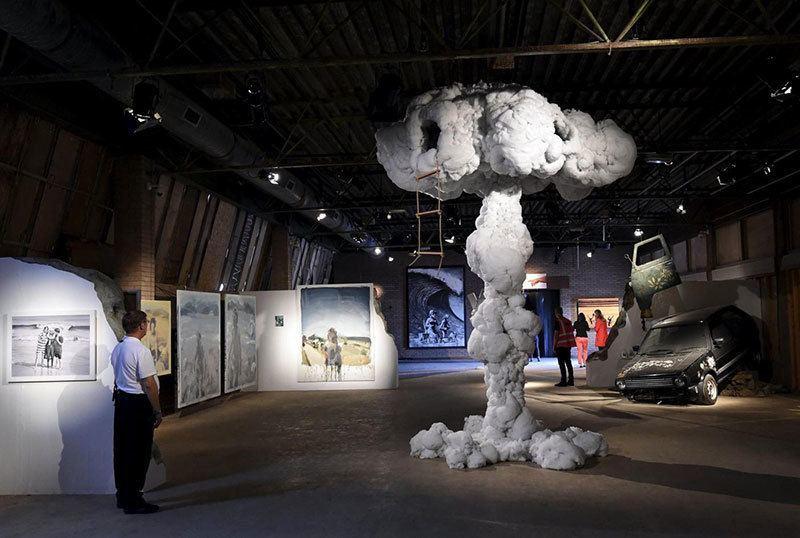 Banksy Theme Park Art Installation
