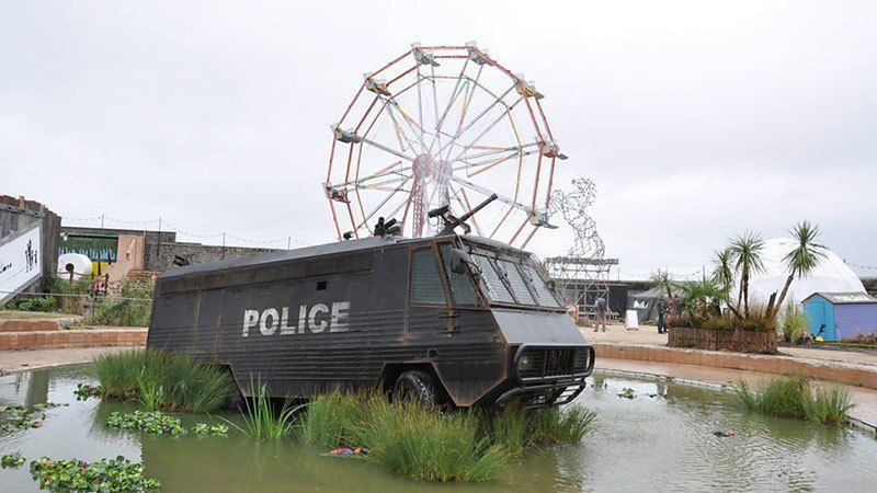 Banksy Police Art