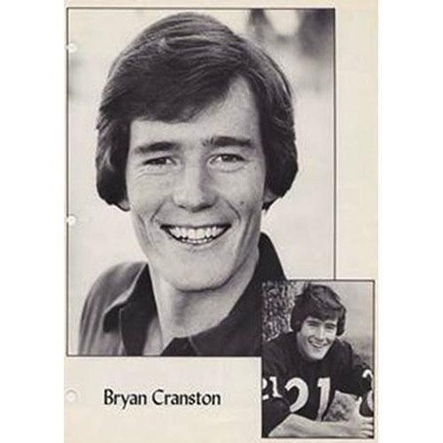 Celebrity Yearbook Photos Bryan Cranston