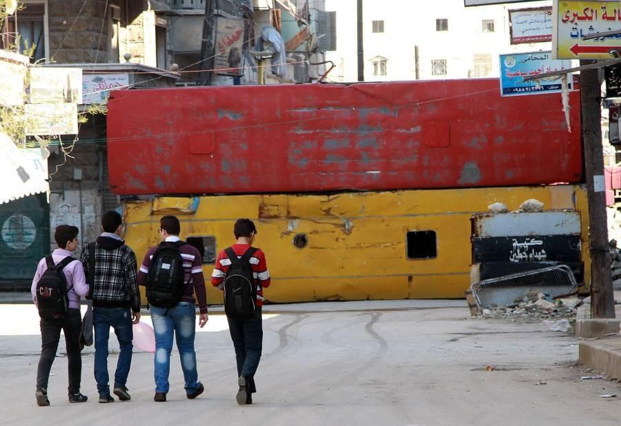 Bus Shields Aleppo
