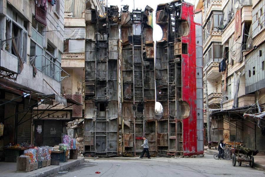 Busses In Aleppo